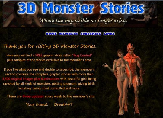 3DMonsterStories.com SiteRip