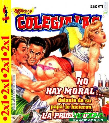 Sexacional Colegialas Comics Magazine (sp)