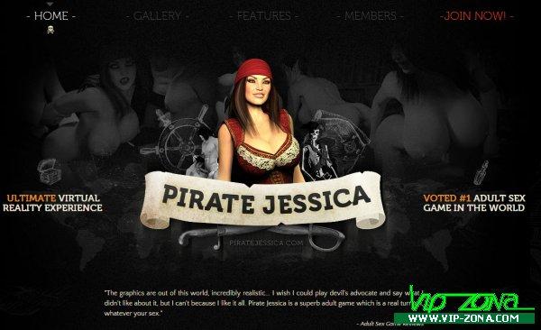 PirateJessica.com Full SiteRip