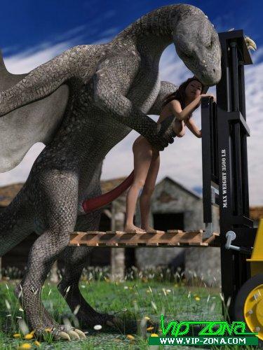 Dragon Loves Forklift