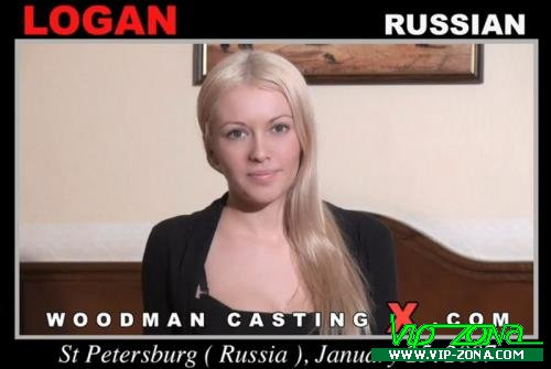 Logan - A russian girl, Logan has an audition with Pierre Woodman (2018/FullHD)